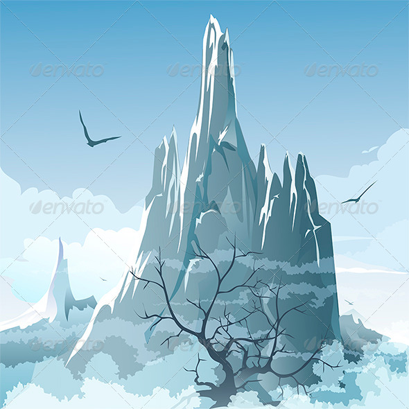 GraphicRiver The Mountains 6281655