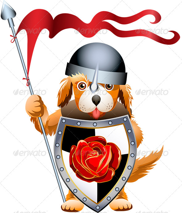 GraphicRiver Puppy Knight 6281662