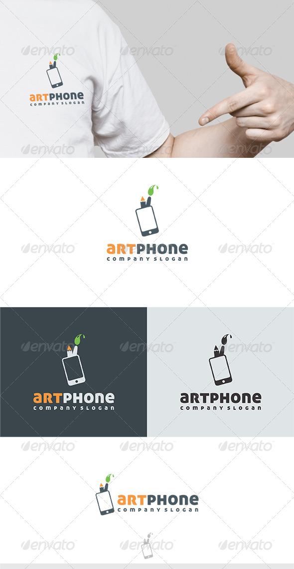 GraphicRiver Art Phone Logo 6281671