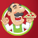 Mr Pizza Logo Template - GraphicRiver Item for Sale