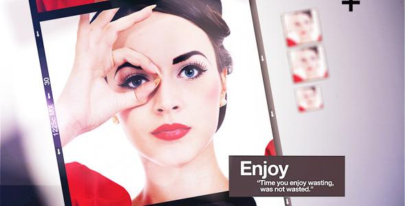 AE模板-复古创意婚纱摄影工作室宣传纸质折叠栏目包装模版Believe免费下载