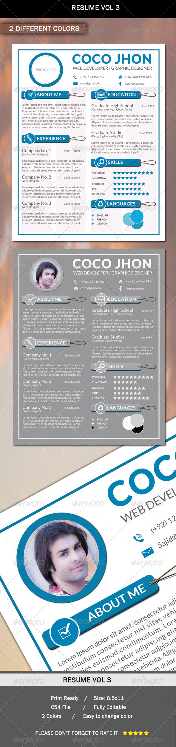 GraphicRiver Resume 6282662
