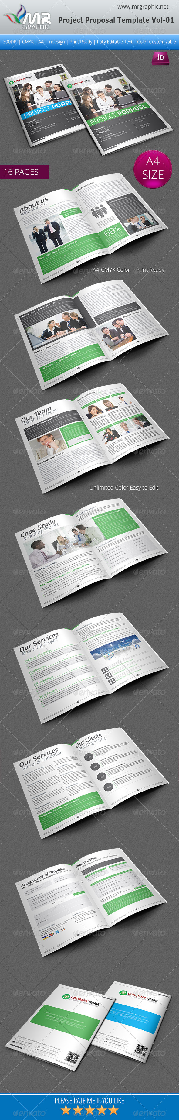 GraphicRiver Project Proposal Template Vol-01 6282683