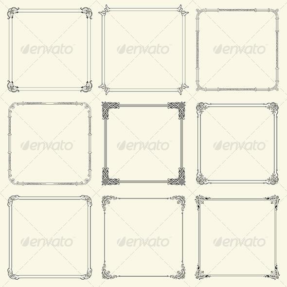 GraphicRiver Decorative Frames 6283303