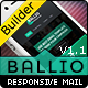 BALLIO-Flat Responsive Email With Template Builder - ThemeForest Item for Sale