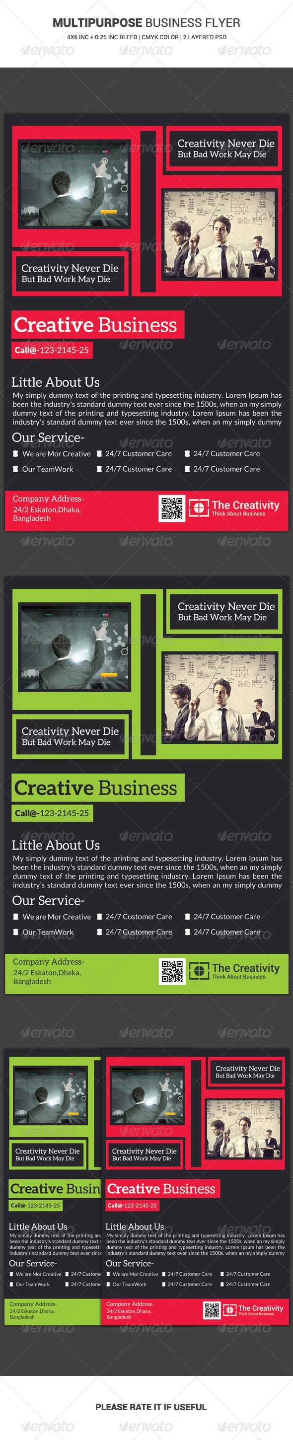 Business Flyer Template 14 - Corporate Flyers