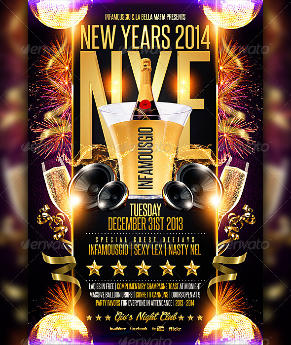 GraphicRiver New Years 2014 NYE 6283843