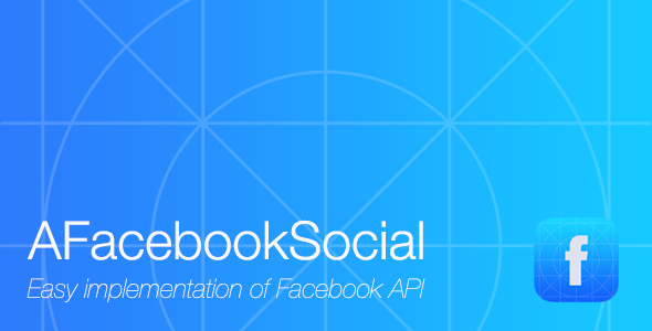 CodeCanyon AFacebookSocial Facebook service in your app 6241720