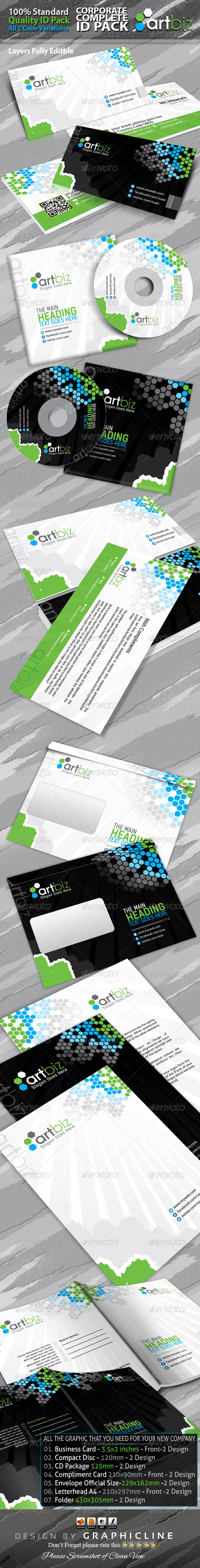 GraphicRiver Artbiz Corporate Complete ID Pack 6284070