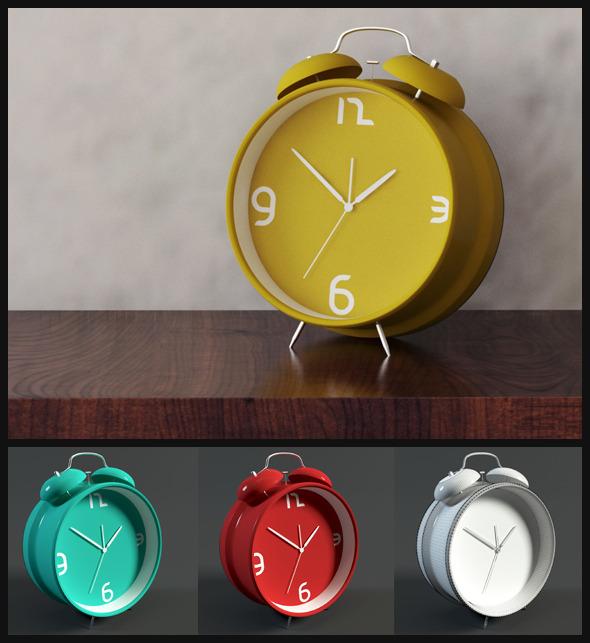 3DOcean Alarm Clock 6284143