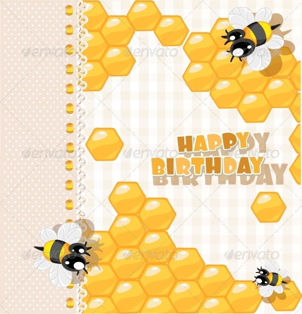 GraphicRiver So Sweet Birthday Card 6284622