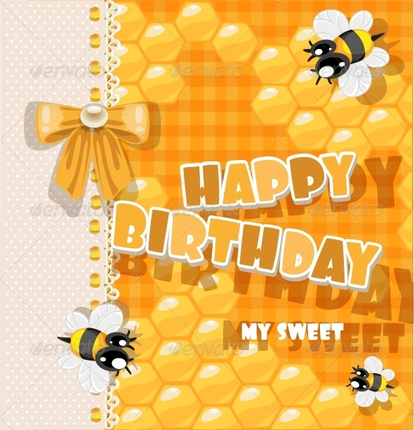 GraphicRiver Happy Birthday to My Sweet 6284626