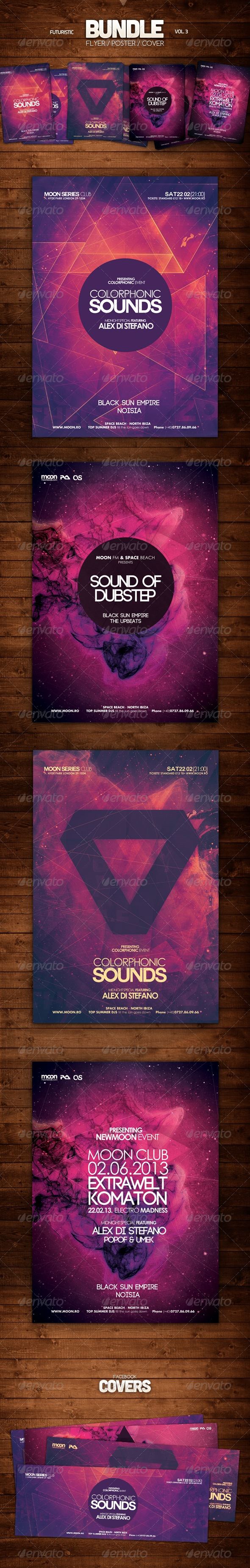 GraphicRiver Futuristic Bundle Vol 3 6284925