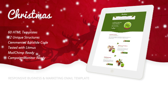 Christmas - Responsive Email Template