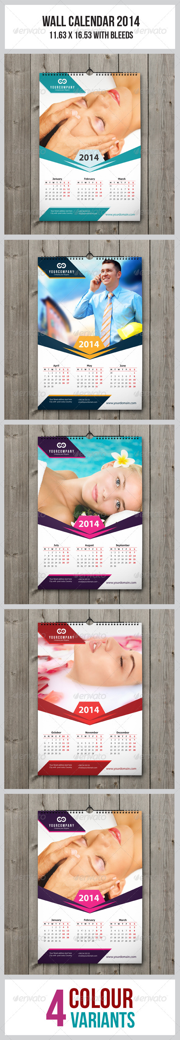 GraphicRiver Wall Calendar 2014 6286038