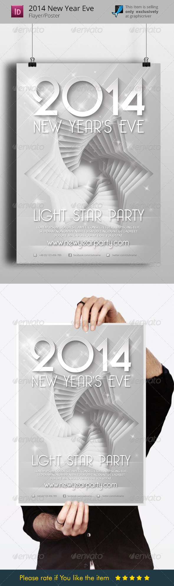 GraphicRiver 2014 New Years Eve Flyer Template 6286059
