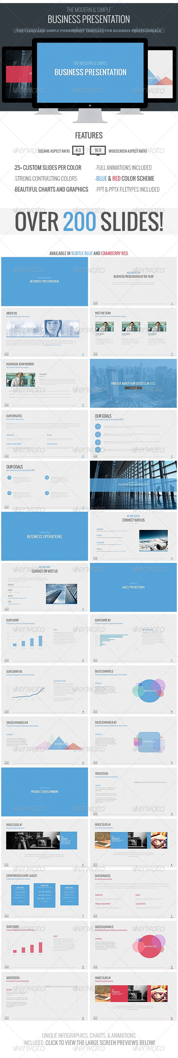Modern Business Powerpoint Template