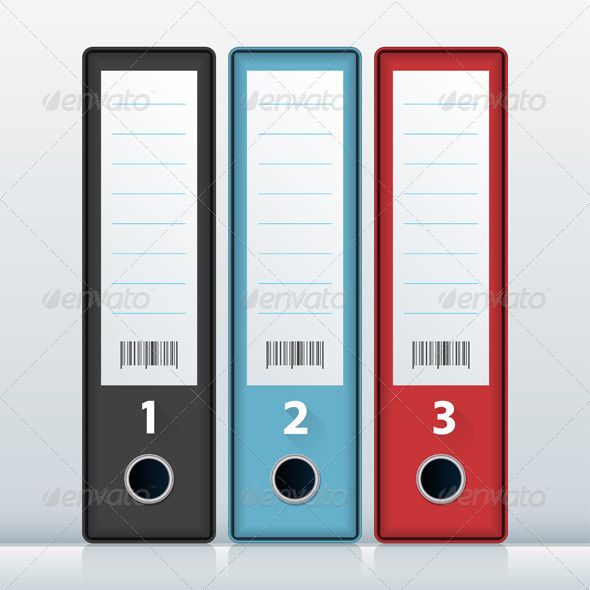 GraphicRiver File Folders 6286766