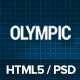Olympic - Fitness & Health Site Template - ThemeForest Item for Sale