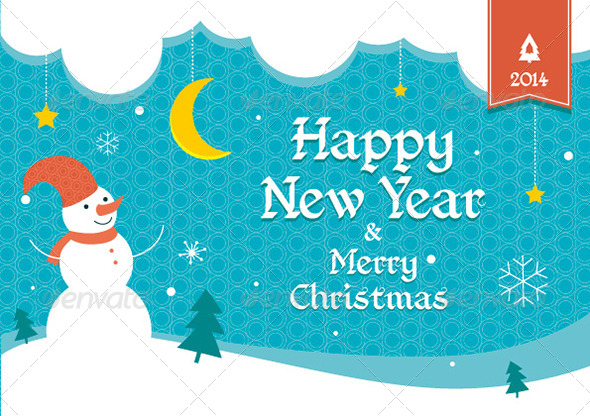 GraphicRiver Merry Christmas and Happy New Year Flyer 6277397