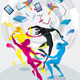 Dancers of Colors - GraphicRiver Item for Sale
