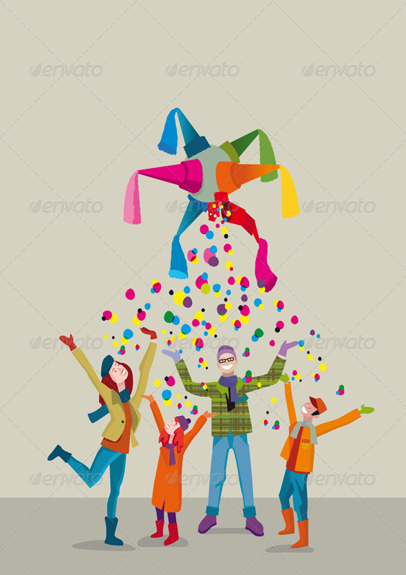 GraphicRiver Family Christmas 6288629