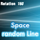 Space random moving lines - ActiveDen Item for Sale