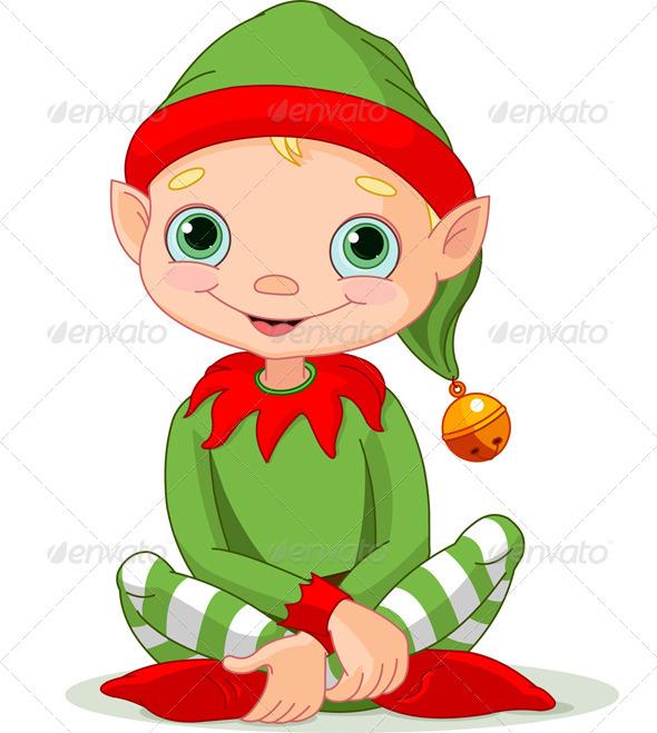 GraphicRiver Christmas Elf 6288907