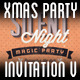 xMas Party Invitation V - GraphicRiver Item for Sale