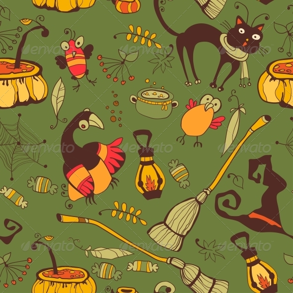 GraphicRiver Halloween Day Thanksgiving Harvest 6288925