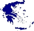 Greece 3D Map - Blue - PhotoDune Item for Sale