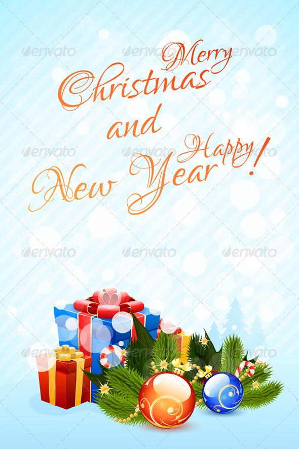 GraphicRiver Christmas Greeting Card 6289601