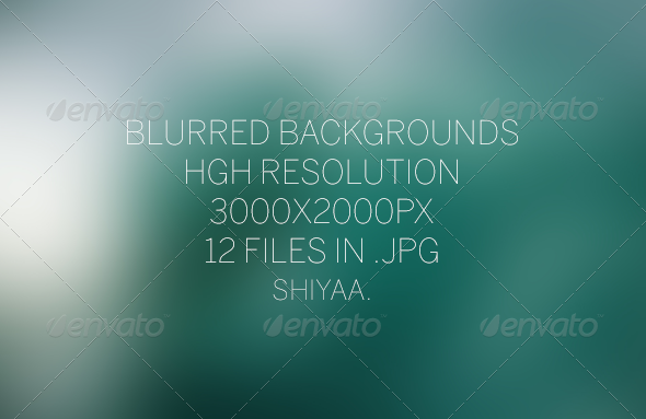 GraphicRiver Blur HD # Backgrounds 6275069