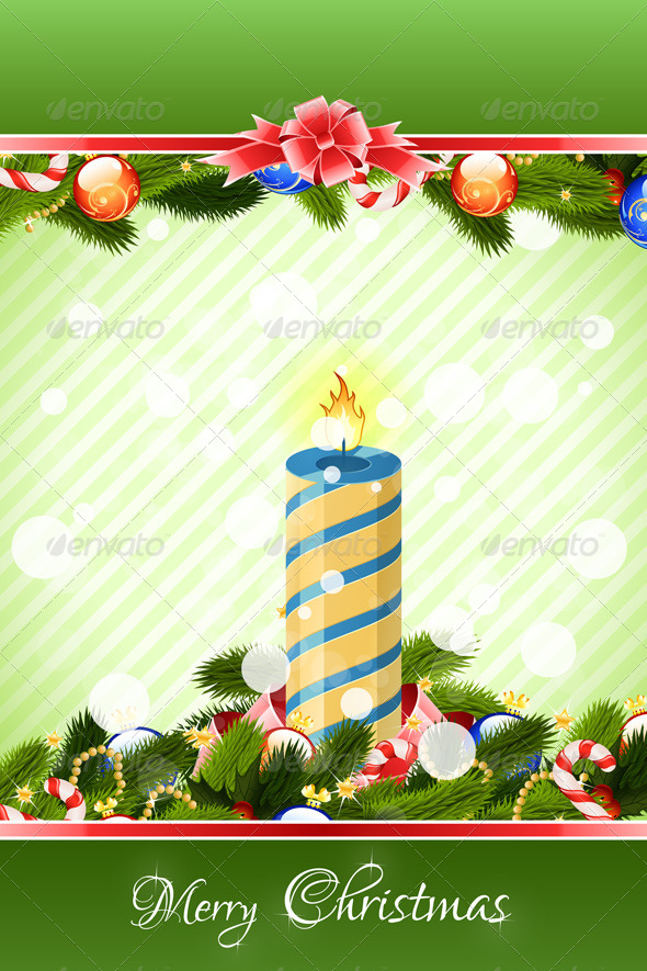 GraphicRiver Merry Christmas Greeting Card 6289647