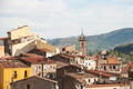 Monistrol de Montserrat the village under monastery, Spain - PhotoDune Item for Sale
