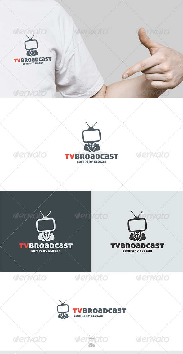 GraphicRiver TV Broadcast Logo 6290052