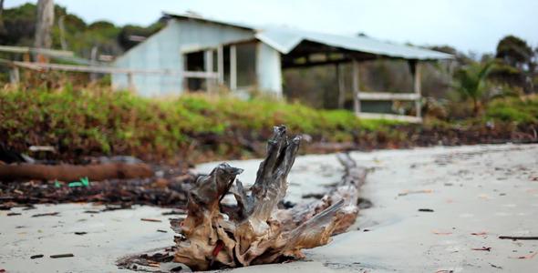 Abandoned Beach House