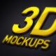 Photorealistic 3D Logo Mockups - GraphicRiver Item for Sale