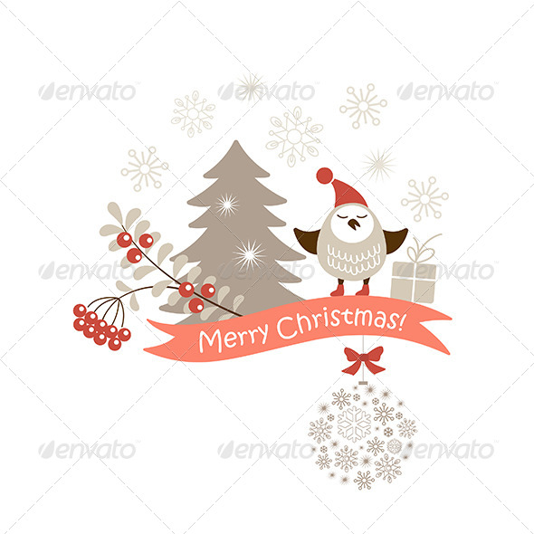 GraphicRiver Christmas Vector Card 6293910