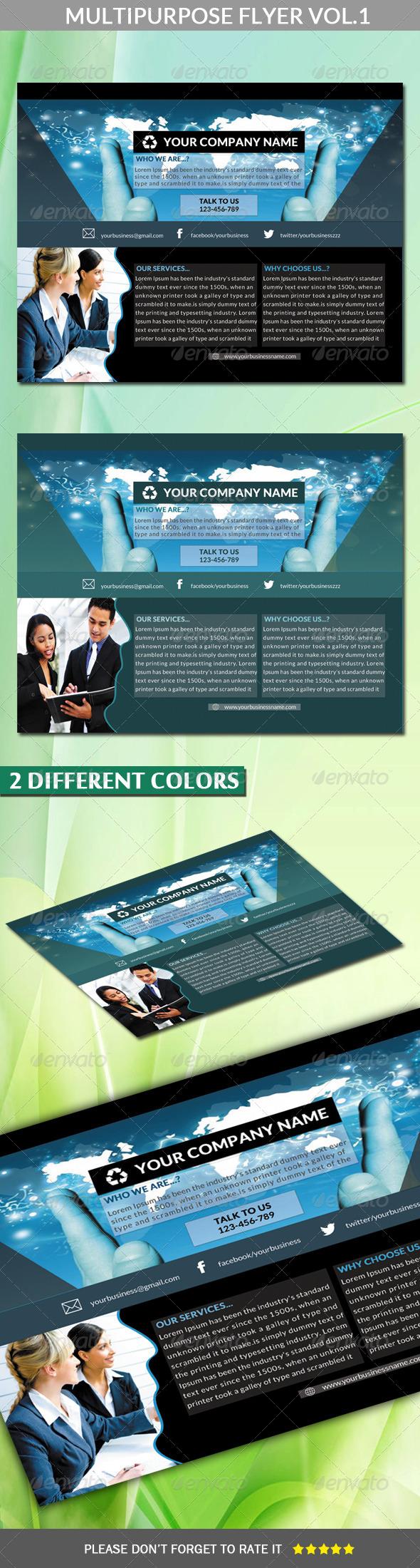 GraphicRiver Multipurpose Flyer Vol.1 Landscape 6294279