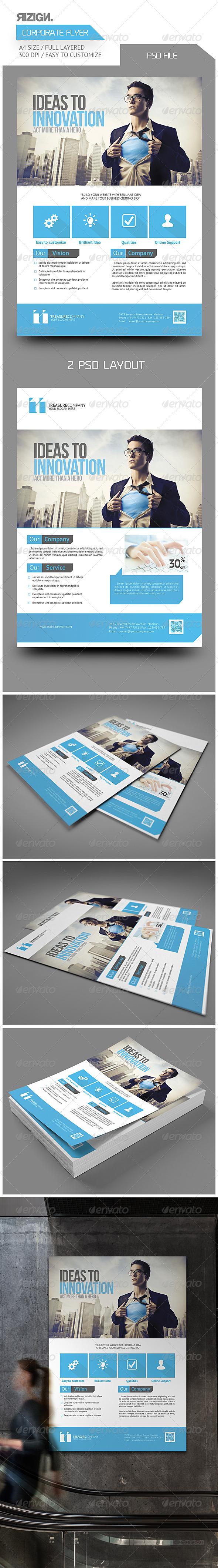 GraphicRiver Multipurpose Corporate Flyer 6247265