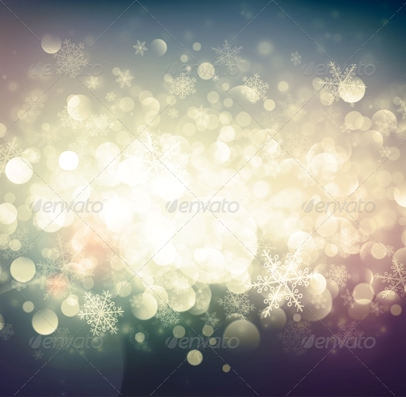 GraphicRiver Abstract Winter Background 6294407