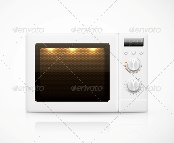 GraphicRiver Isolated Microwave 6294451