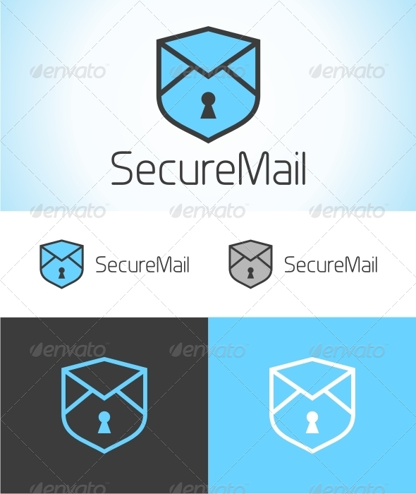 GraphicRiver Secure Mail Logo 6273810