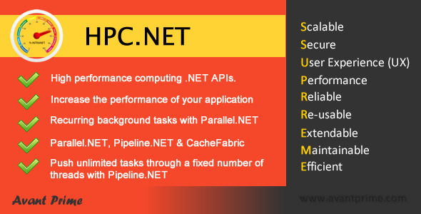CodeCanyon HPC.NET Bundle Background work and cache package 6295107