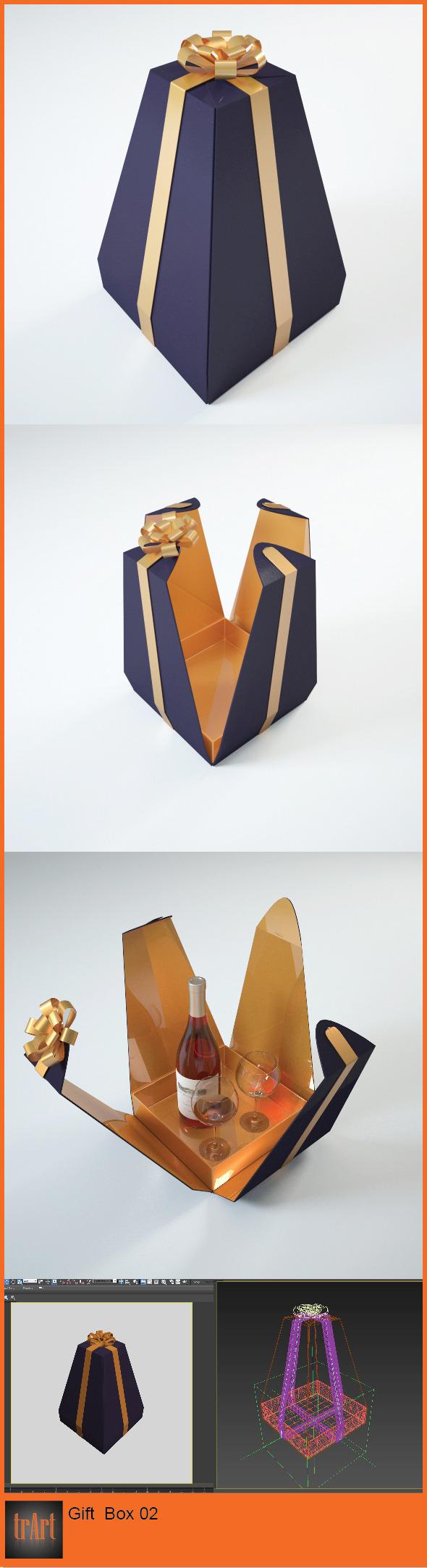 3DOcean Gift Box 6295177