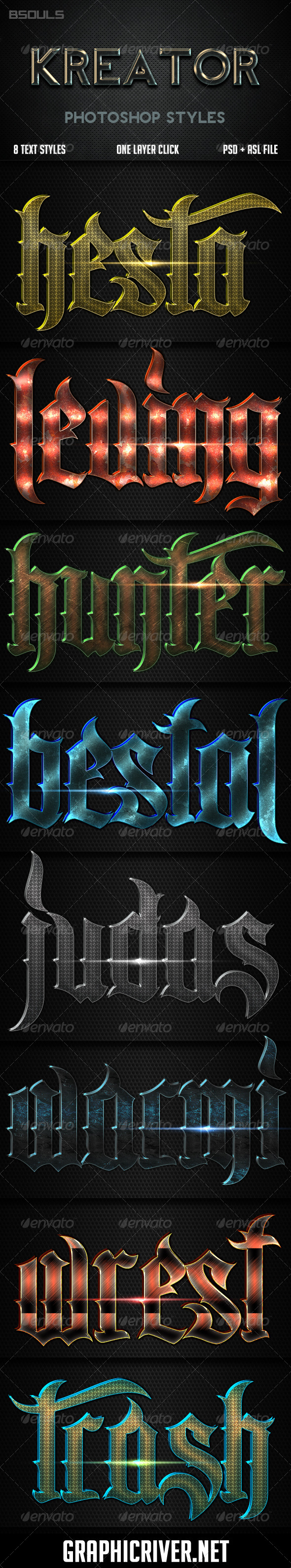 GraphicRiver Kreator Photoshop Styles 6295507