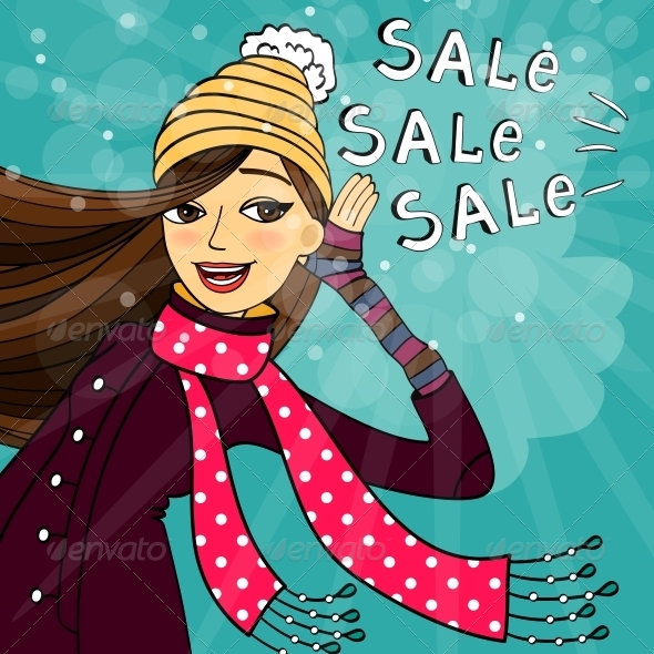 GraphicRiver Winter Shopping Sale 6295586