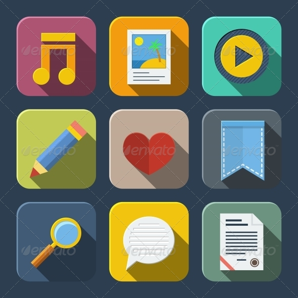 GraphicRiver Media Icons Pack 6295603