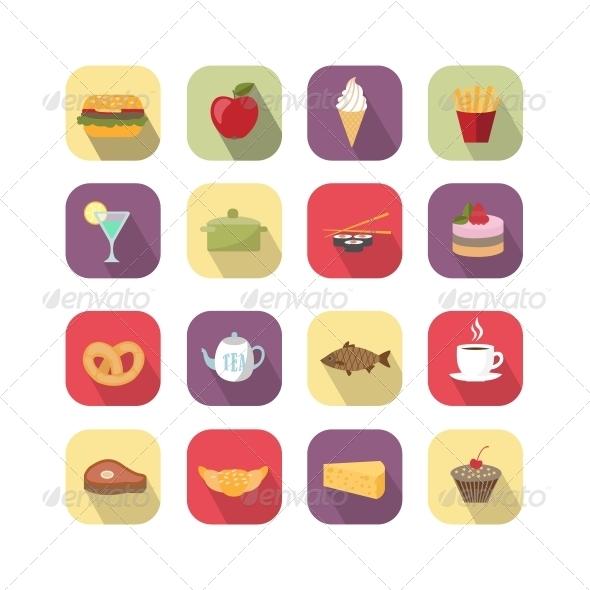 GraphicRiver Food Design Elements 6295645